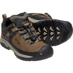 30%OFF vic2セール キーン KEEN Youth Targhee Low WP Dark Earth/Golden Brown