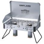 ユニフレーム UNIFLAME ツインバーナー US-1900 ツーバーナー 屋外専用 カセットボンベ式 610305