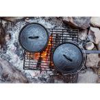 ポーラー POLER CAMP FIRE DUTCH OVEN BLACK キャンプファイア ダッチオーブン 鋳鉄 キャストアイアン スキレット