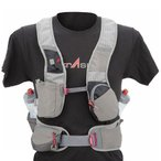 パック荷重が身体バランスと一体化して効率的に走ることが可能