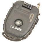 パックセーフ PacSafe 250-4ダイアルリトラクタブル ケーブルロック スモーク ワイヤーロック 鍵 トラベル セキュリティ 防犯