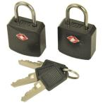 パックセーフ PacSafe プロセーフ620 ブラック セキュリティロック 南京錠 鍵 海外旅行用 錠前 防犯グッズ TSA認可