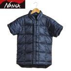 ナンガ NANGA ダウンTシャツフロントオープン NVY FO-DT2
