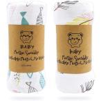 おくるみ、LASOLL 赤ちゃん バスタオル 保温 ガーゼタオル ベビーブランケット 赤ちゃん毛布 120*110 ベビー布団 授乳ケープ プレイマッ