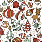 ポーセラーツ 転写紙 かわいい サンタクロース ツリー トナカイ CHRISTMAS ORNAMENT(クリスマスオーナメント)