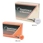 ツアーステージ(TOURSTAGE) ゴルフボール エクストラディスタンス ホワイト (1ダース 12個) オンライン価格 (メンズ、キッズ)