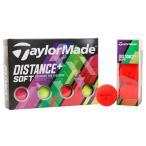 テーラーメイド(TAYLORMADE) ゴルフボール 1ダース ディスタンス プラス マルチ DISTANCE+ multi 1ダース (Men's)