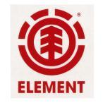 ELEMENT エレメント 2014春夏 MAKIE STICKER ロゴ アイコンカッティングステッカー 4cm x 4cm 3カラー RED
