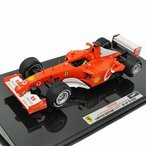 マテル 1/43スケール フェラーリ F2002 #1 M.シューマッハ 2002 フランスGP エリート