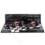 MINICHAMPS 1/43スケール レッドブル レーシング ルノー RB6 コンストラクターズ ワールドチャンピオンシップ 2010 S.ベッテル/M.ウェバー 2台セット