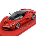 BBR MODELS CORNES特別仕様 1/18スケール フェラーリ La Ferrari ロッソコルサ/カーボンルーフ