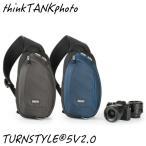 Yahoo!業務用ビデオカメラ専門店ALLCAMthinkTANKphoto シンクタンクフォト カメラバッグ  ターンスタイル5 V2.0 チャコール ブルーインディゴ スリングバッグ