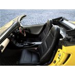 【Azur/アズール】フロントシートカバー ヘッドレスト一体型 ホンダ ビート PP1 [AZ03R01]