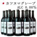 シャトー勝沼 カツヌマ・グレープ 12本セット 720ml  ノンアルコールワイン 赤 Katsunuma Grape ROUGE【ワイン 通販ギフト 】wine wineset