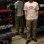 UES 651848 半袖Tシャツ ビッグロゴクルーネックT CREW NECK TEE SHIRT S/S OFFICIAL LOGO ウエス