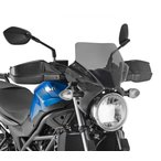 【バイク】【スクリーン】 スズキ SV650 2016- GIVI社製 スモーク スクリーン