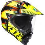 バイク オフロードヘルメット フルフェイス AGV AX-8 デュアルEVO SoleLuna ロッシ 2015