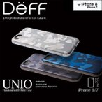 iPhone 7 用 HYBRID Case UNIO Soft Leather Camouflage for iPhone 7 【送料無料】 iPhone iPhone7 iPhoneケース Deff ディ―フ アルミバンパー PUレザー