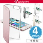 iPhone7 用  cellularline Clear Book 手帳型カード収納ケース for iPhone 7 カバー iPhone7 アイフォン7 アイフォン