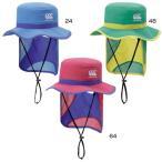 カンタベリー ジュニア キッズ ハットHAT 帽子 軽撥水 サンシールド付 日焼け防止 日よけ 紫外線対策 熱中症対策 ACJ08352
