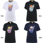 コンバース ジュニア キッズ プリントTシャツ バスケットボールウェア トップス CB401352