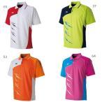 【送料無料】 ミズノ メンズ レディース テニス バドミントンウェア ゲームシャツ ラケットスポーツ 半袖 ポロシャツ 62JA6111