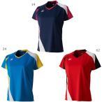 ミズノ レディース ゲームシャツ テニス バドミントンウェア 半袖 72MA7201