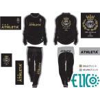 ATHLETA/アスレタ 別注 王冠ロゴ ピステスーツ トップス・パンツ 上下セット (EI-004) (エイコーオリジナル)