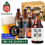 ビール ベアレン 父の日 5種6本セット 330ml×6本 ベアレン醸造所 沖縄 離島 配送不可 代引き不可 送料無料 父の日お届け クラフトビール 地ビール 国産