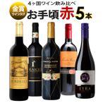 ワイン ワインセット 赤ワインセット 5本 辛口 お手頃セット 金賞受賞 お買い得 おまけ付き