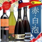 ワイン ギフト ワインセット スペイン&チリ 赤白泡バ
