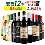 ワイン ワインセット お手頃 赤白12本  送料無料