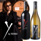 ワイン ワイ バイ ヨシキ 赤白 2本セット カベルネ ソーヴィニョン シャルドネ カリフォルニア 赤ワイン 白ワイン 2017 アメリカ産 フルボディ Y by Y
