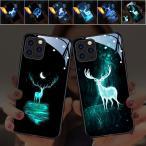 光る スマホケース 光るスマホケース iPhone12 LED 発光 アイフォン ケース iPhone11 Pro iPhoneカバー 全機種対応 発光センサー iPhone X/XS XR