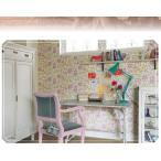 ショッピングLL のりなし のり付き壁紙 SWEET&POP リリカラLL-8061-8062 かわいい壁紙  花柄(m単位)