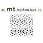 ショッピングマスキングテープ マスキングテープ リメイクシート カモ井加工紙 mt CASA SHEET 壁用 三角パターン 460mm角
