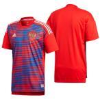 ロシア代表ホームプレマッチジャージー半袖 adidas アディダスサッカー レプリカウェア18SS (EDO10-CF1555)