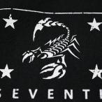 アメカジ/セブンスクローラー/メンズ ロンT ロングTシャツ 長袖/正規品 ブラック