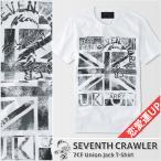 アメカジ/セブンスクローラー/メンズ Tシャツ 半袖/恋愛運上昇 正規品 ホワイト
