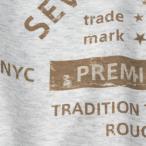 アメカジ/セブンスクローラー/メンズ Tシャツ 半袖/正規品 ベージュ