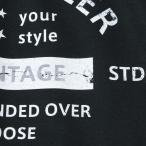 アメカジ/セブンスクローラー/メンズ Tシャツ 半袖/正規品 ブラック