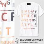 アメカジ/セブンスクローラー/メンズ Tシャツ 半袖/正規品 ホワイト