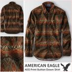 アメリカンイーグル / メンズ 長袖シャツ 正規品 マルチカラー