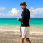 水着 メンズ ラッシュガード スポーティ 人気 夏 シンプル セット メンズサーフパンツ トランクス メンズ水着のビキニパンツ