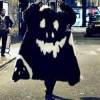 G-DRAGON[ピタカゲMV]style フェイクーファー  コート 悪魔マーク 3タイプあり ビビショー
