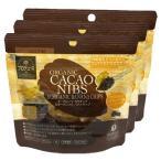 オーガニックカカオニブ&オーガニックバナナチップ35g 3袋セット 送料無料 ORGANIC CACAO NIBS カカオポリフェノール マグネシウム 鉄 食物繊維