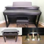 電子ピアノ 中古 ローランド HP207-SB 2007年製 103372
