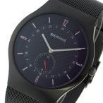 ベーリング 腕時計 メンズ BERING ブラック