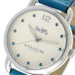 ショッピングコーチ コーチ 腕時計 レディース デランシー COACH レザー ホワイト