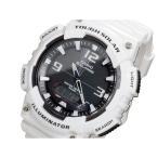 カシオ 腕時計 メンズ スタンダード CASIO デジタル ソーラー ブラック/ホワイト